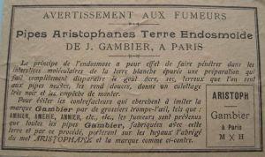 Advertentie Gambier