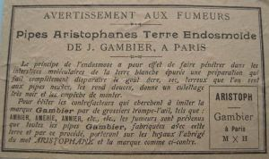 Advertentie Gambier